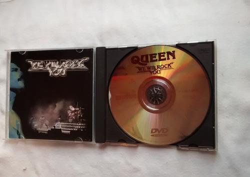 dvd queen we will rock you