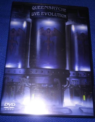 dvd queensryche - live evolution - produto novo