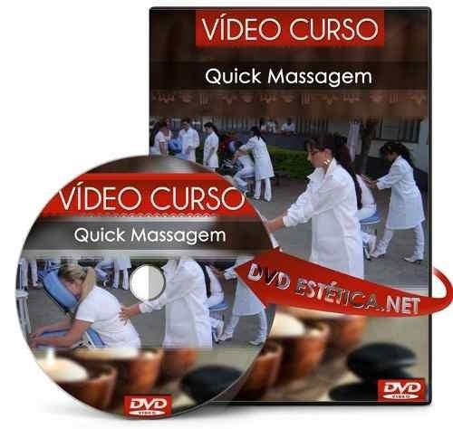 dvd quick massagem - via download + 03 cursos