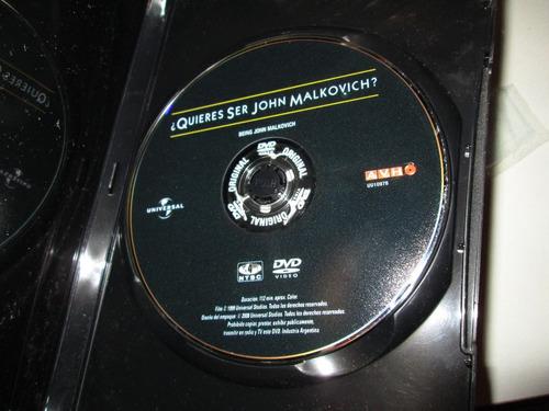 dvd ¿quieres ser john malkovich? de spike jonze