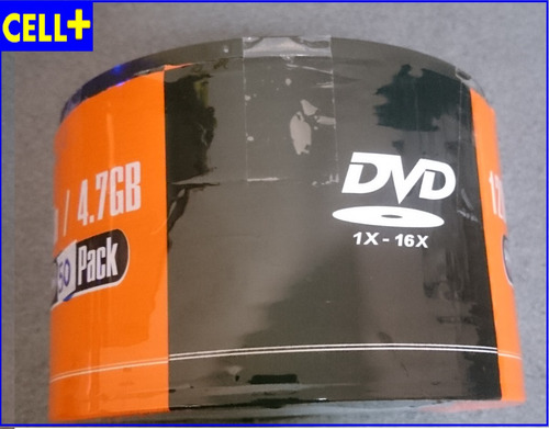 dvd-r matrix 16x 4.7gb torre x 50 unidades
