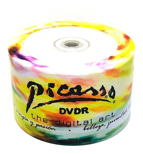 dvd-r picassso 4.7 gb 120 min