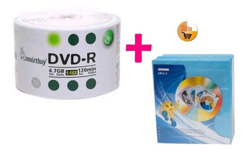 dvd-r virgen torre x50 disk 4.7gb +felpa estuche x100 unidad