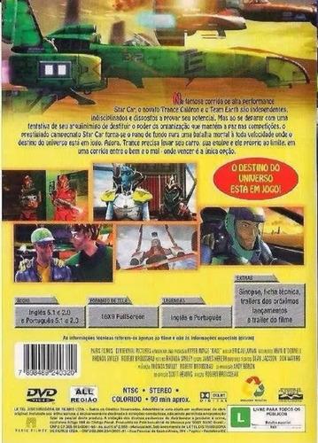 dvd race - pilotos rebeldes guerreiros - novo e lacrado
