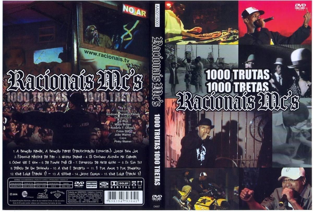 dvd racionais 1000 trutas mil tretas