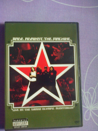 dvd : rage against the machine - live at the grand olympic..