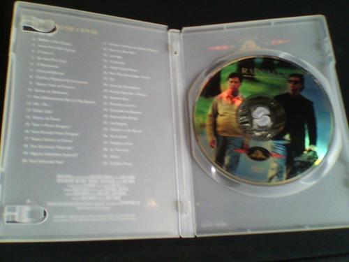 dvd  rain man  (encarte com índice de cenas)