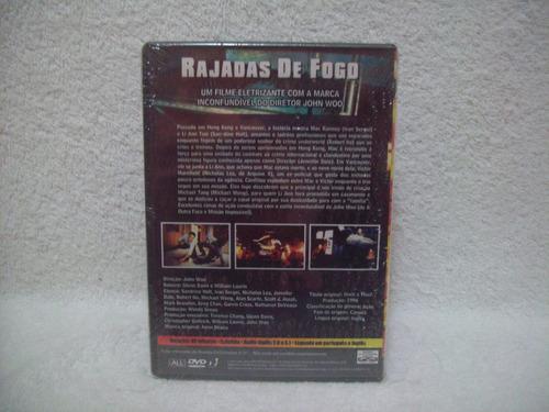 dvd rajadas de fogo- de john woo- lacrado de fábrica