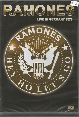 dvd-ramones-live in germany 1978-hey ho let´s go-otimo estad