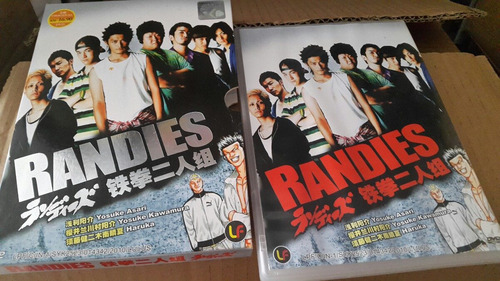 dvd randies importado com luva live action manga original