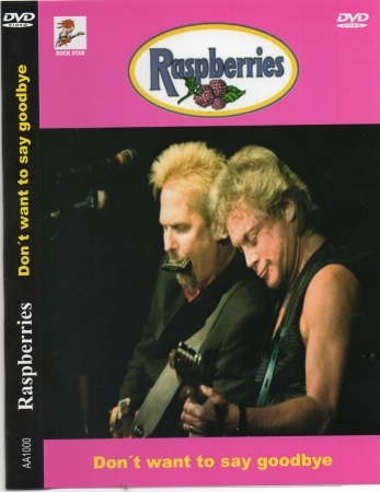 dvd raspberries - don't want to say goodbye original lacrado