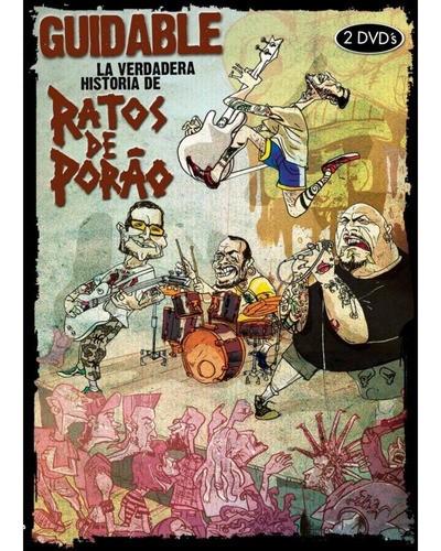 dvd ratos de porao - guidable la verdadera historia (2012)