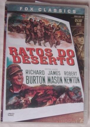 dvd ratos do deserto - original - ótimo estado.