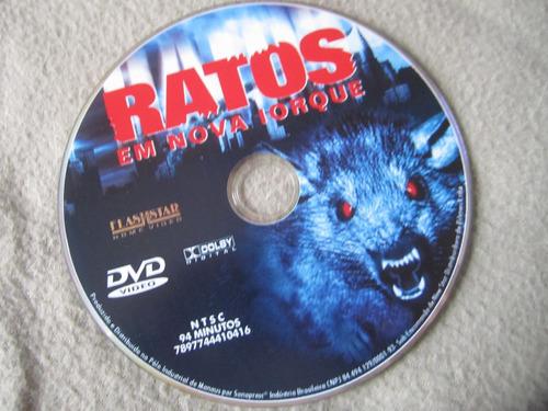 dvd - ratos em nova iorque