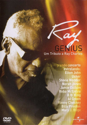 dvd ray genius - um tributo a ray charles