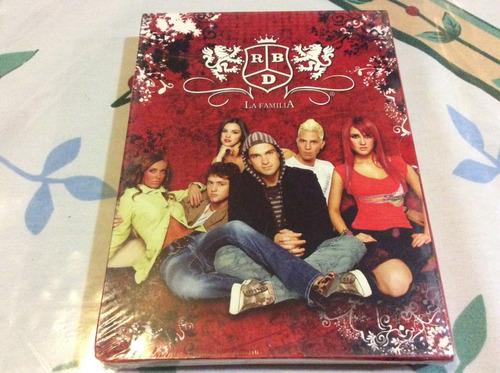 dvd rbd la familia nuevo