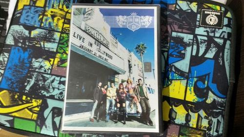 dvd rbd live in hollywood nuevo importado
