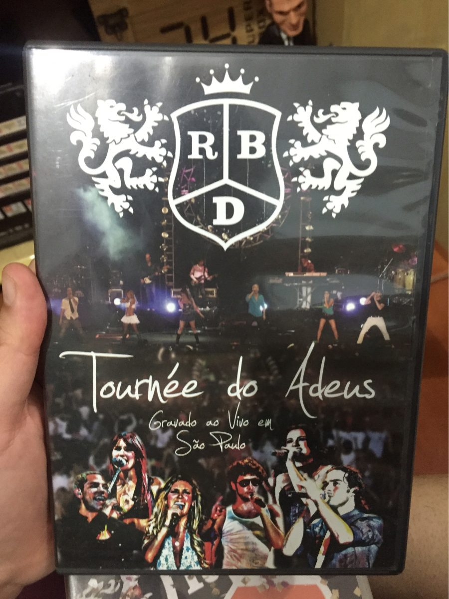 dvd rbd tour do adeus