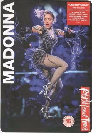 dvd - rebel heart tour - madonna