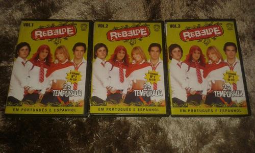 dvd rebelde - 2a temporada completa