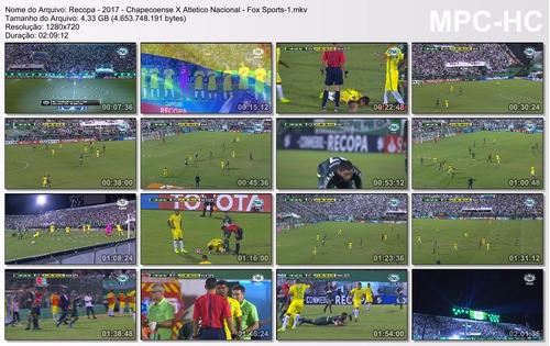 dvd recopa 2017 chapecoense atletico nacional (2 dvd)