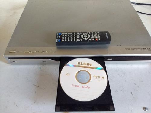 dvd recorder gravador lg dr7621b com controle remoto