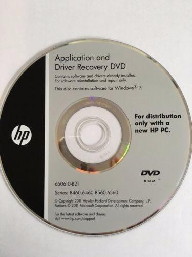 Dvd Recovery Hp Elitebook 8460p + Kit De Ferramentas