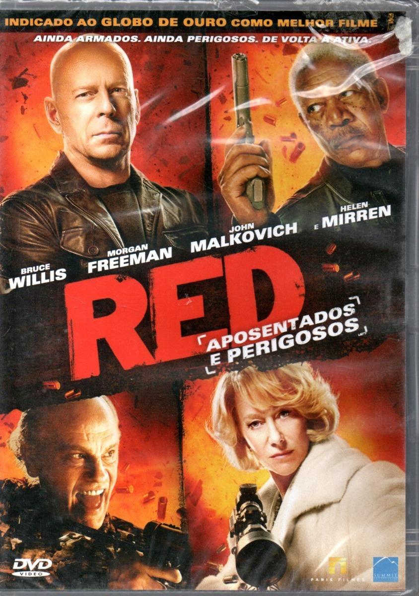Dvd - Red Aposentados E Perigosos - Bruce Willis - Lacrado - R$ 20 ...