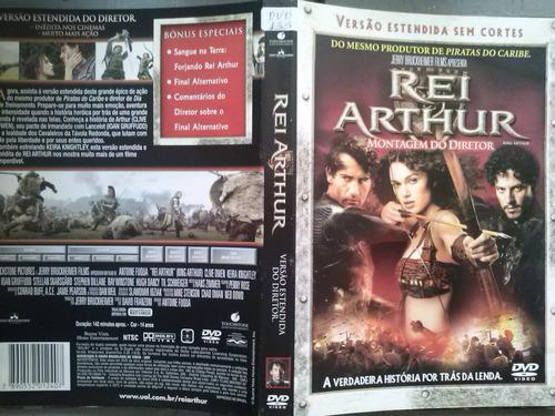 dvd rei arthur - montagem do diretor