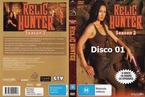 Dvd Relic Hunter 2º Temporada Legendado R 19 99 Em Mercado