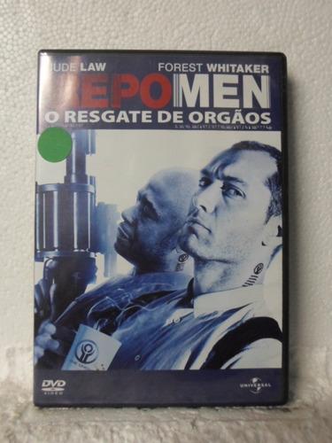 dvd repo men - o resgate de órgãos