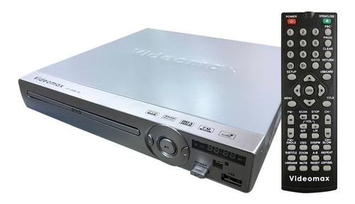 dvd  reproductor cd  pen drive usb control remoto