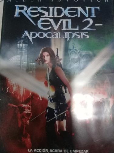 dvd resident evil 2 apocalipsis año 2004 en la plata
