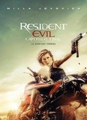 dvd resident evil 6 de paul w.s. anderson - nueva - original