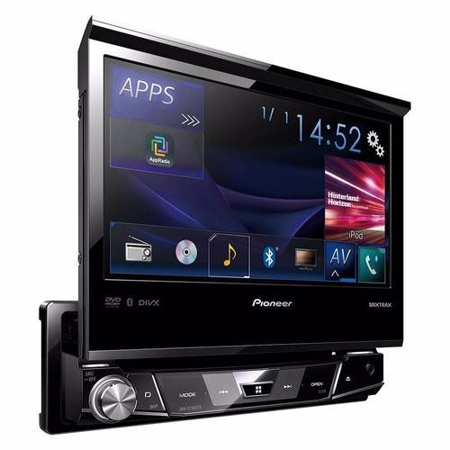 dvd retratil pioneer avh x7850tv 7  touch tv bluetooth/ usb