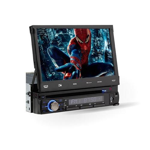 dvd retrátil universal bluetooth touch 7 usb sd tv digital