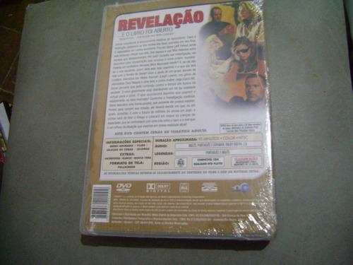 dvd  revelaçao eo livro foi aberto  lacrado