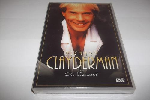 dvd - richard clayderman - live in concert - lacrado