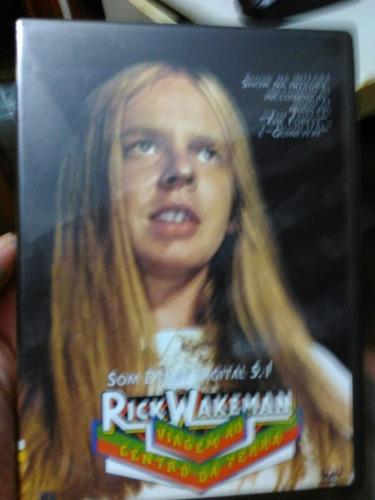 dvd rick wakeman viagem ao centro da terra raro envio gratis