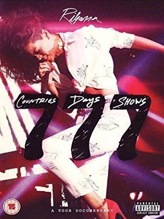 dvd rihanna - 777  777 tour 7countries7days7shows-