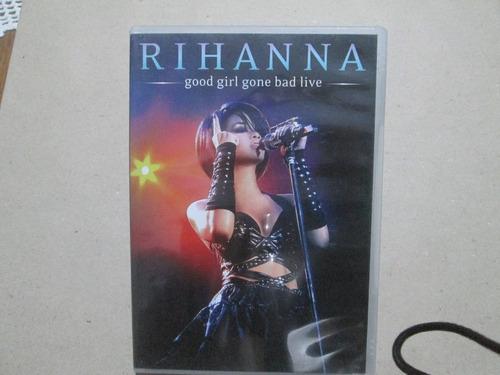 dvd rihanna - good girl gone bad live