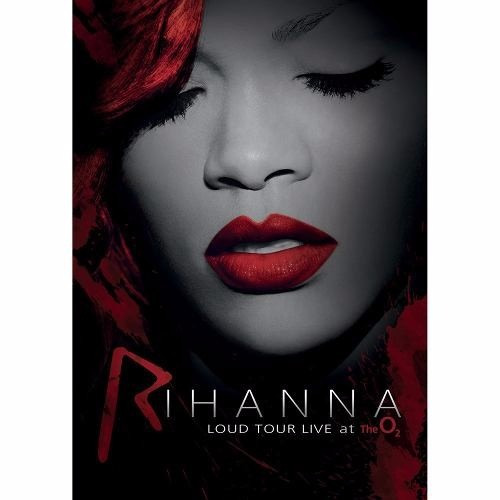 dvd - rihanna - loud tour live at the o² - lacrado