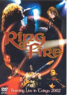 dvd ring of fire - burning live tokyo 2002 (japones)