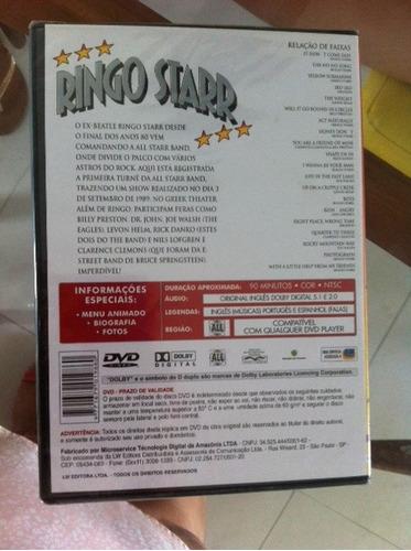 dvd ringo star lacrado