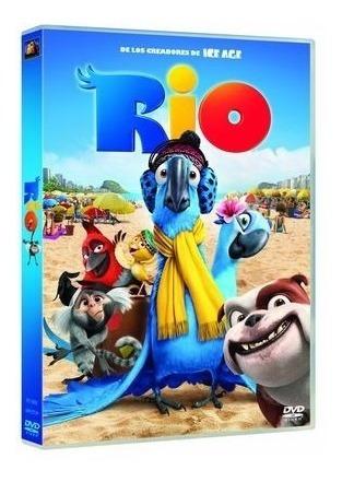 dvd - rio 1 -pelicula infantil - nuevo