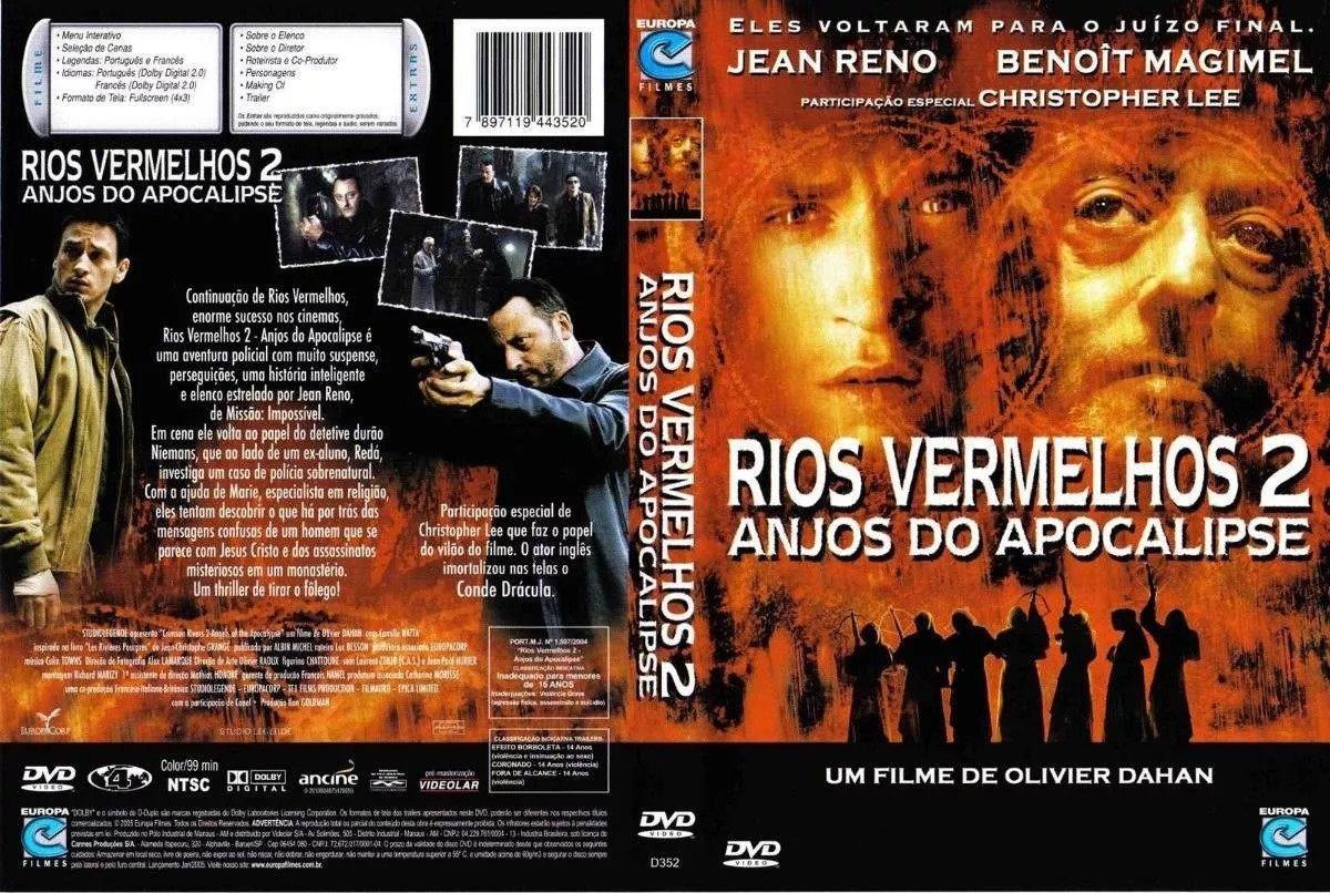 Dvd Rios Vermelhos 2 Anjos Do Apocalipse - Usado - R$ 50,00 em ...
