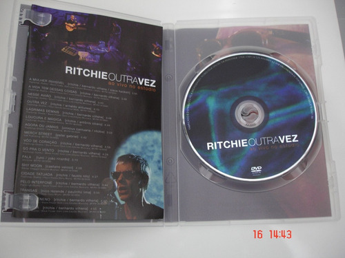 dvd ritchie outra vez - ao vivo no estudio