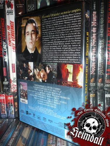 dvd ritos satanicos de dracula imp europ hammer horror gore
