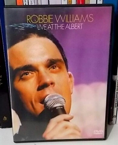 dvd robbie williams live at the albert