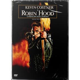 Dvd Robin Hood - O Príncipe Dos Ladrões - Lacrado - Novo